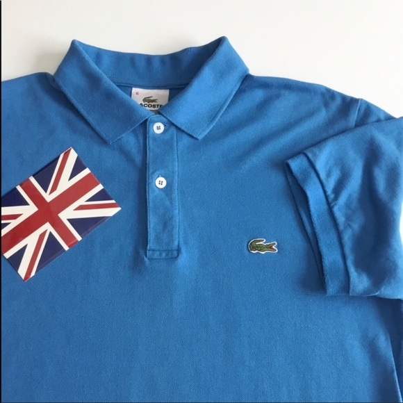 348f6d35 Lacoste Shirts | Perfect Mens Sky Blue 2 Button Polo | Poshmark